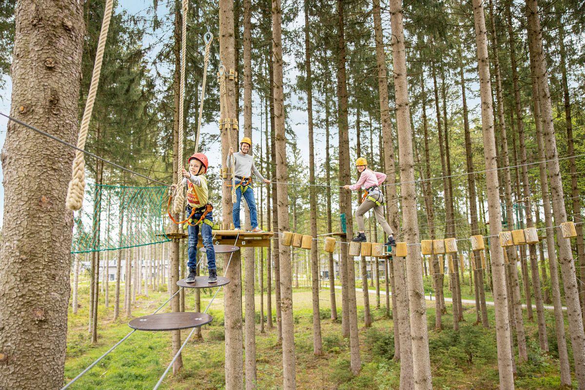 Abenteuer- und Kletterspaß an der frischen Luft © Center Parcs