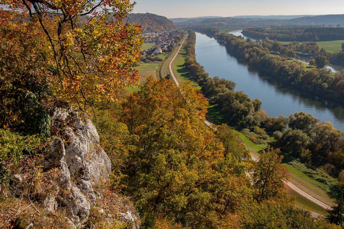 Blick auf das Donautal © Tourismusverband im Landkreis Kelheim e.V