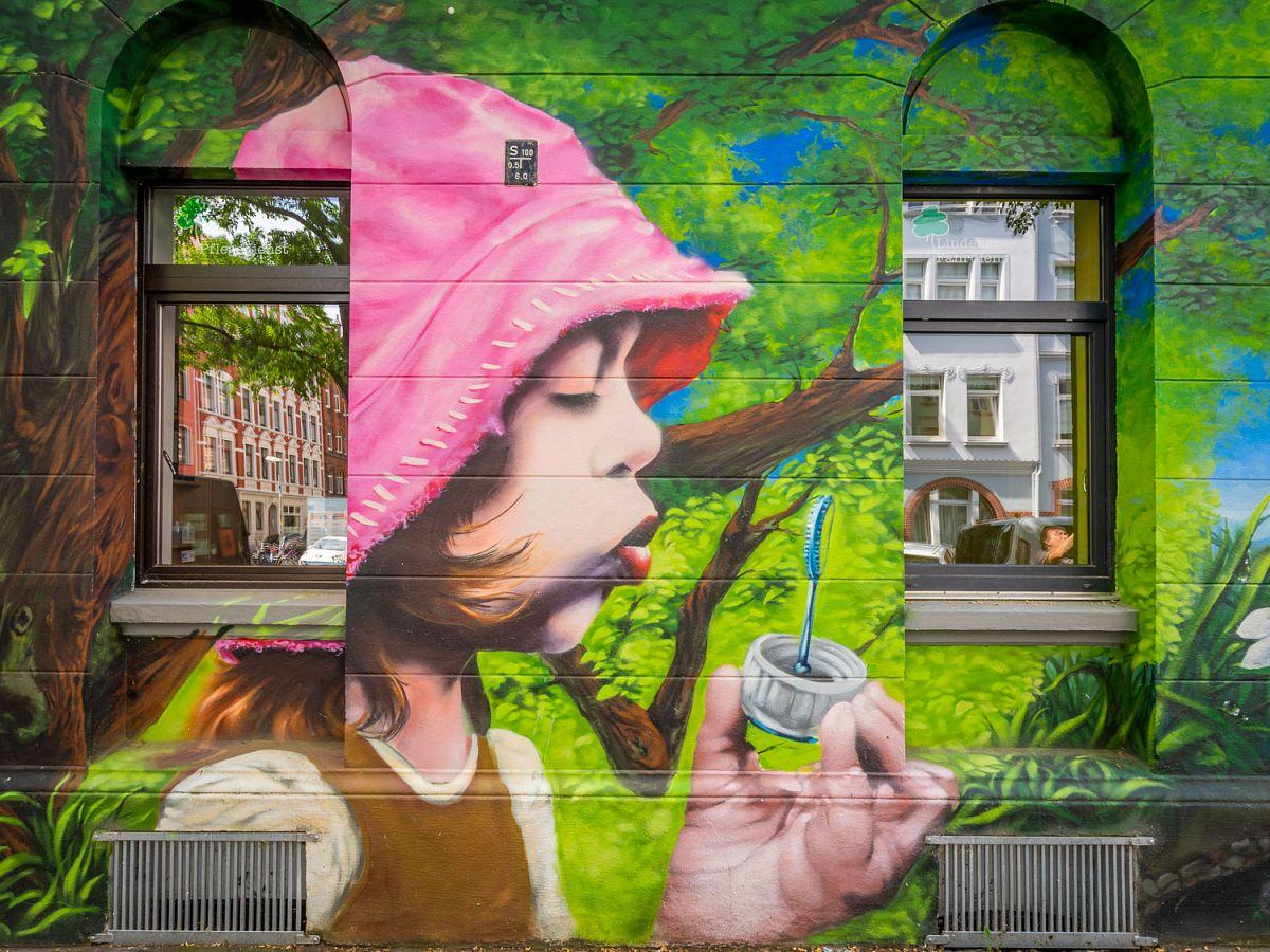 Graffiti-Rundgänge, Struckmeyerstraße © F. Heise