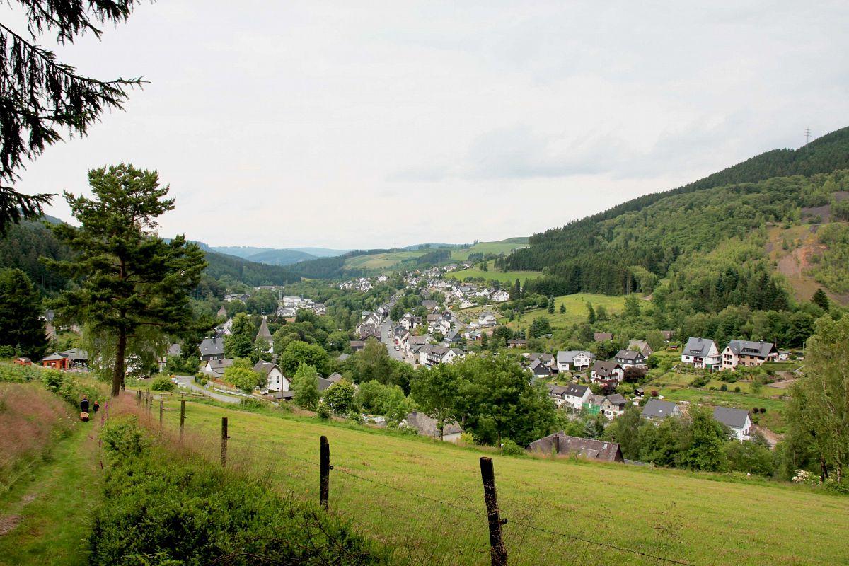 Ramsbeck im Panorama © Anne-Karen Humpert