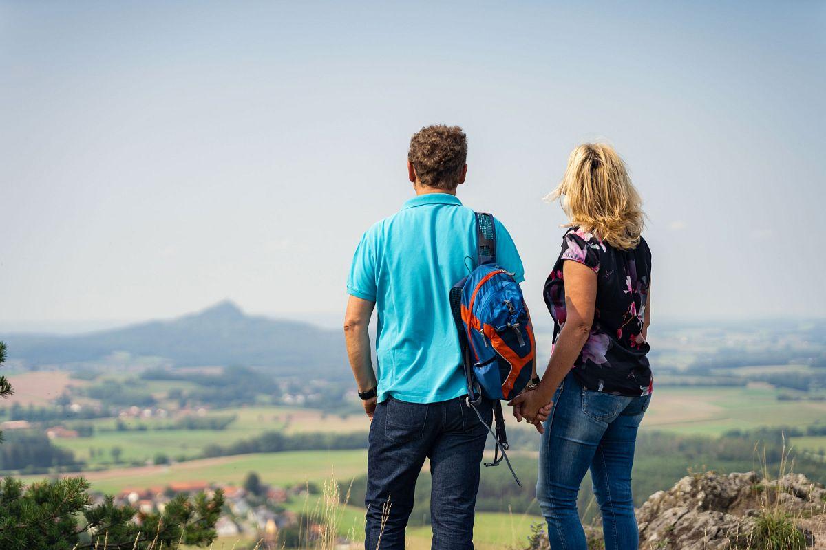 Ausblick vom Schlossberg © Steinwald-Allianz