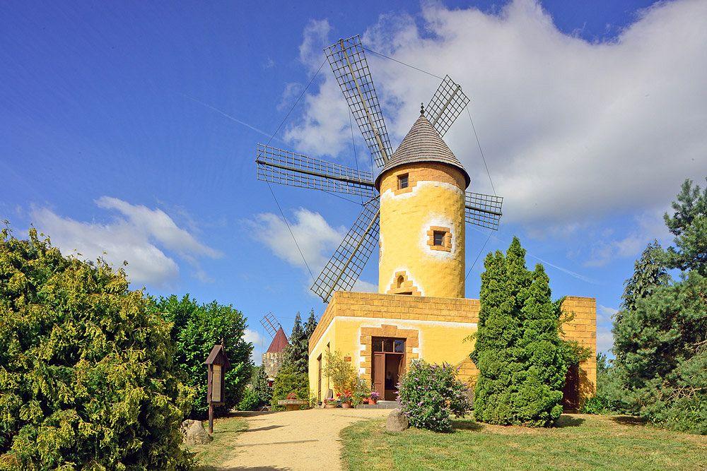 Mallorquinische Mühle im Internationalen Mühlenmuseum in Gifhorn alle Fotos © Südheide Gifhorn GmbH/Frank Bierstedt
