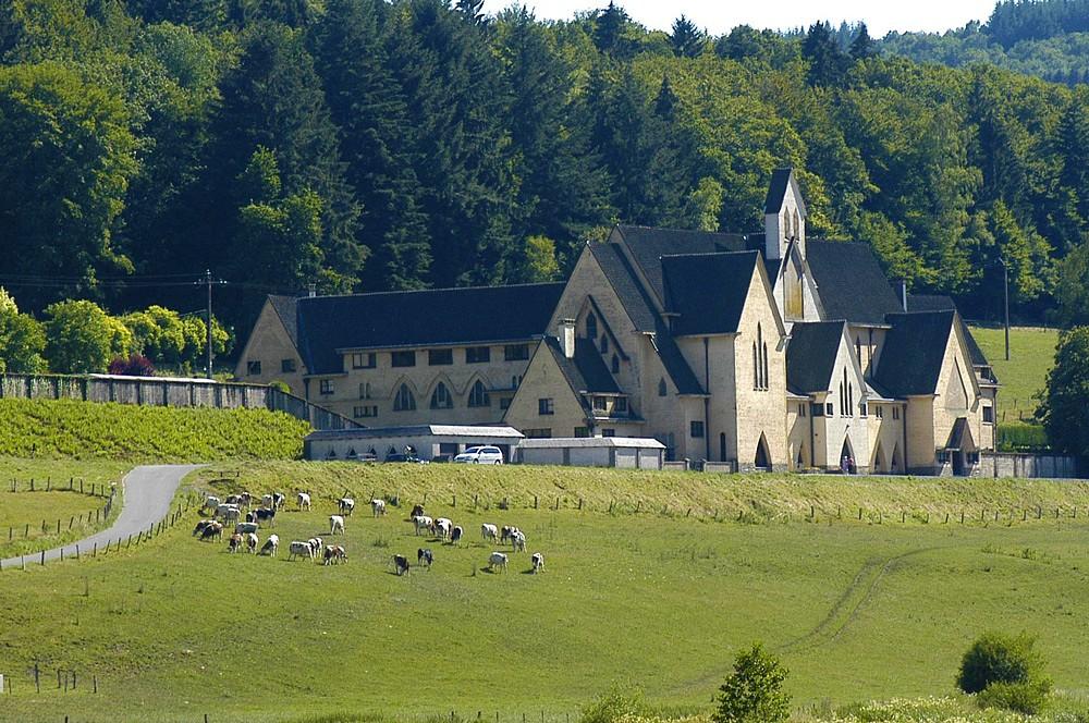 Die Abtei Notre-Dame de Clairefontaine © Christel François