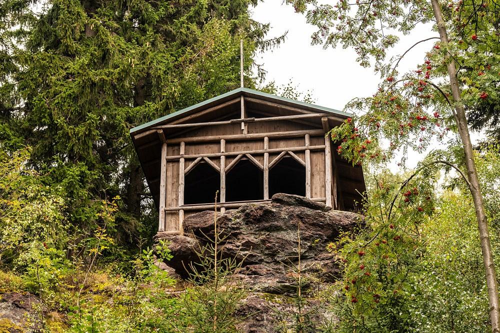 Der Schwalbenstein diente Goethe oft als Inspiration für seine Werke.