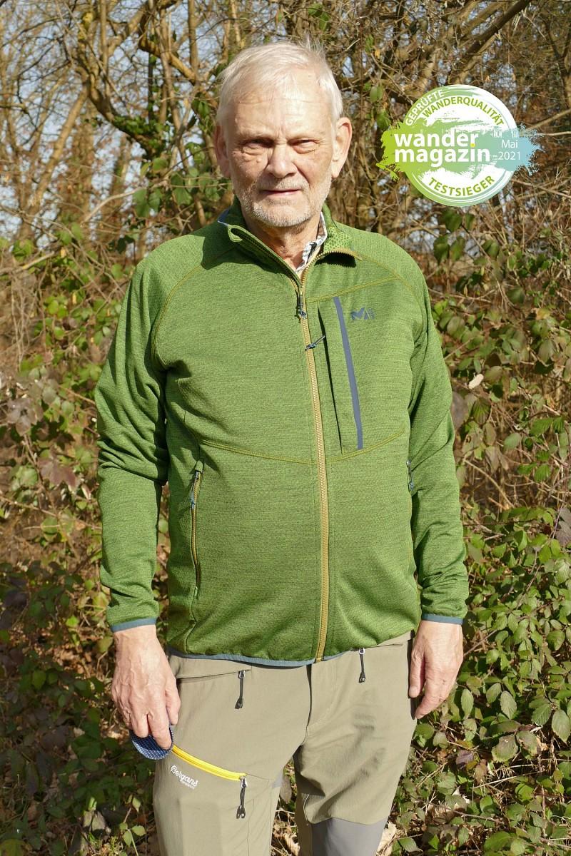 Testsieger Gruppe 1 – dünne Jacken: Millet LOKKA Jacket II © U. Poller/ W. Todt