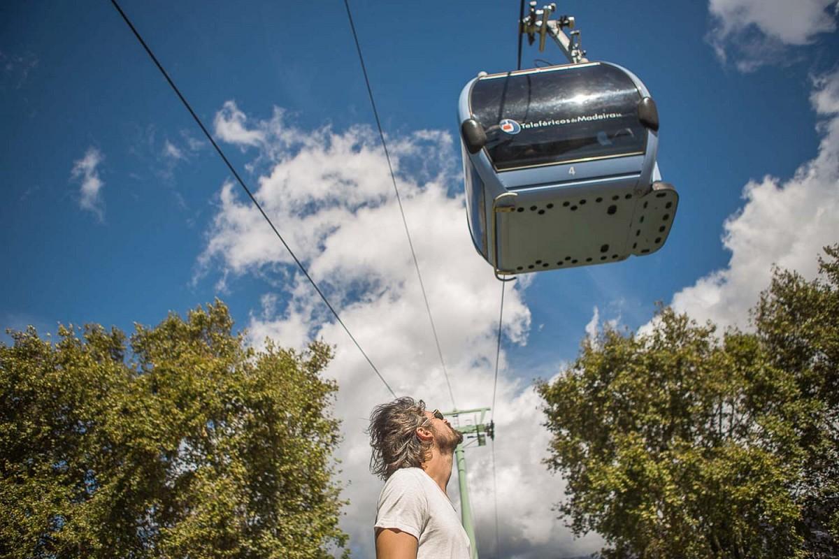 Mit der Seilbahn in den auf 560 Metern Höhe gelegenen Villenort Monte © Rodrigo Gatinho