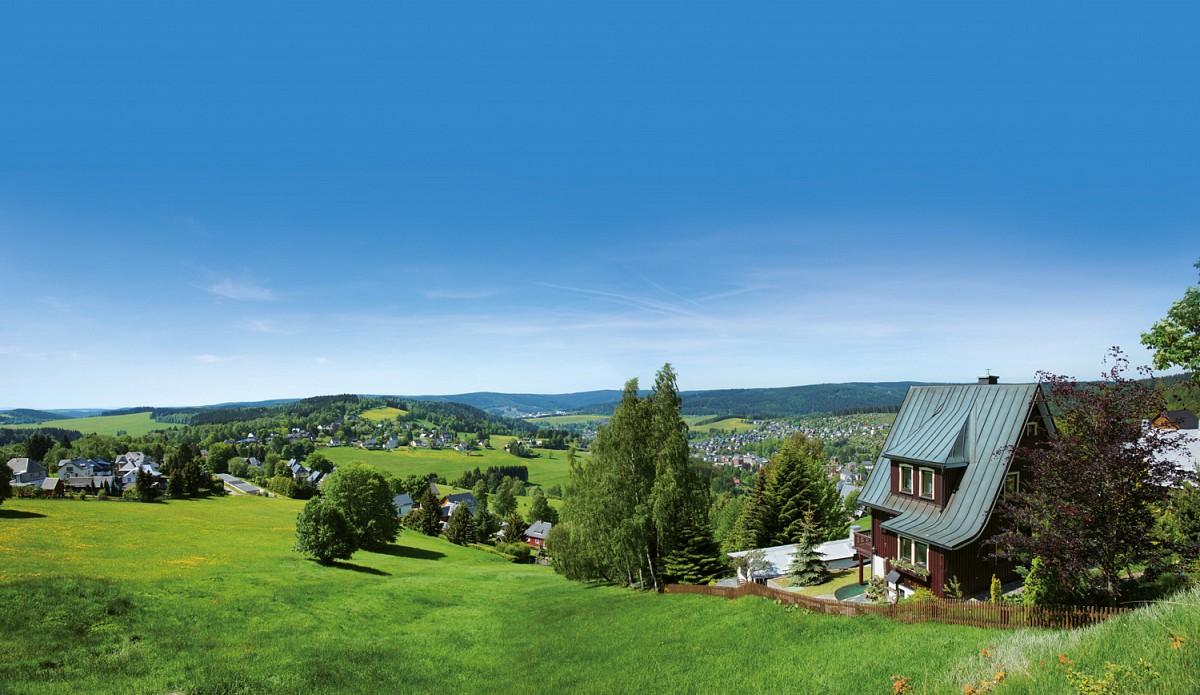 Blick auf Klingenthal © Touristinformation Klingenthal, T. Lenk