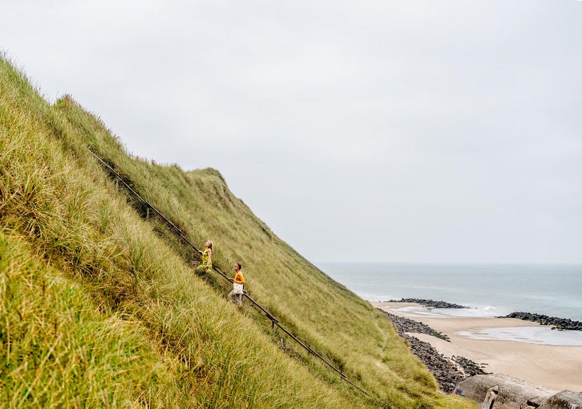 Die steile Küste von Lønstrup © Mette Johnson