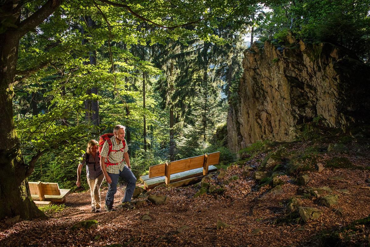Wittgensteiner-Schieferpfad bei Bad Berleburg © Kappest, Kreis Siegen-Wittgenstein