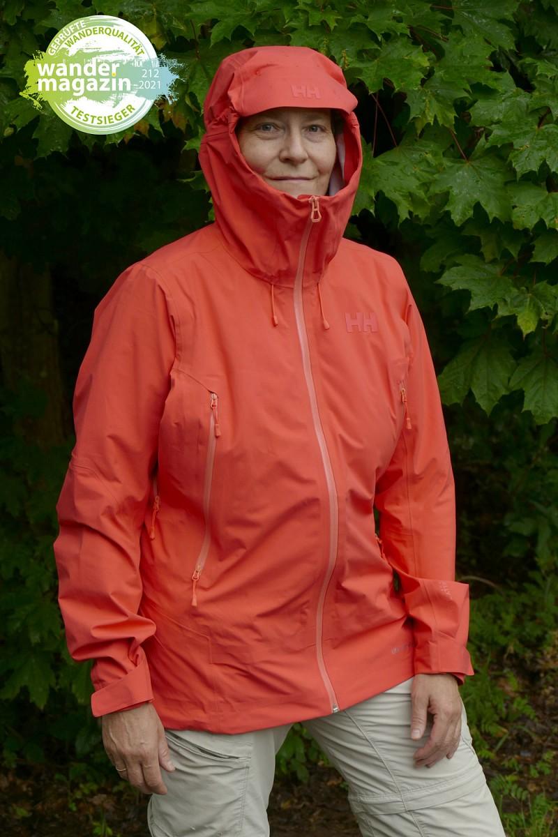 Testsieger 3 Lagen Regenjacken: Helly Hansen Verglas Infinity Shell Jacket © U. Poller/ W. Todt