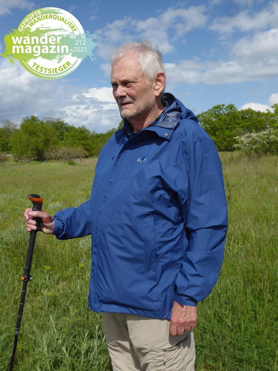 Testsieger 2,5 Lagen Regenjacken: RabDownpour Eco Jacket © U. Poller/ W. Todt