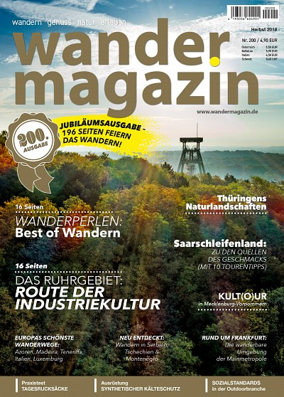 cover mag 200 (Herbst 2018) - 200