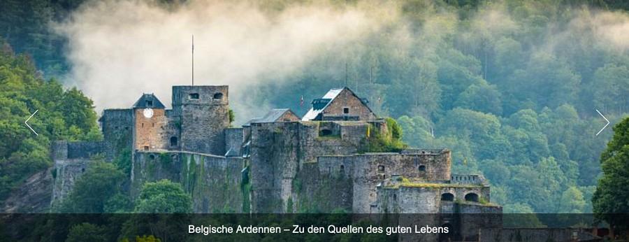 Titelbild, Burg von Bouillon