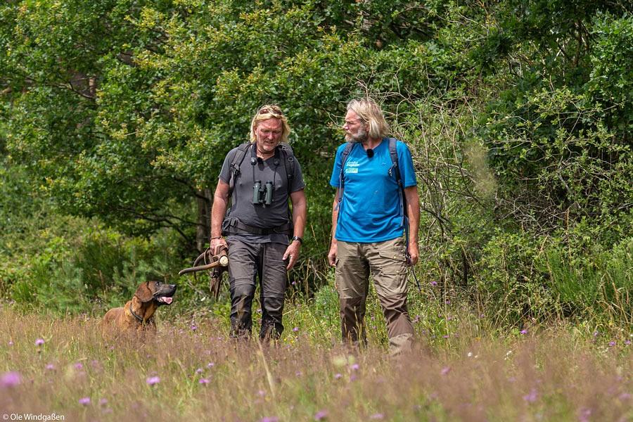 Interview-Wanderung mit Andreas Kieling