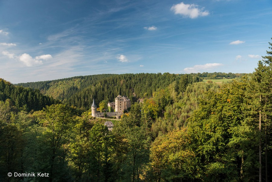 Burg Reinhardstein in den belgischen Ardennen