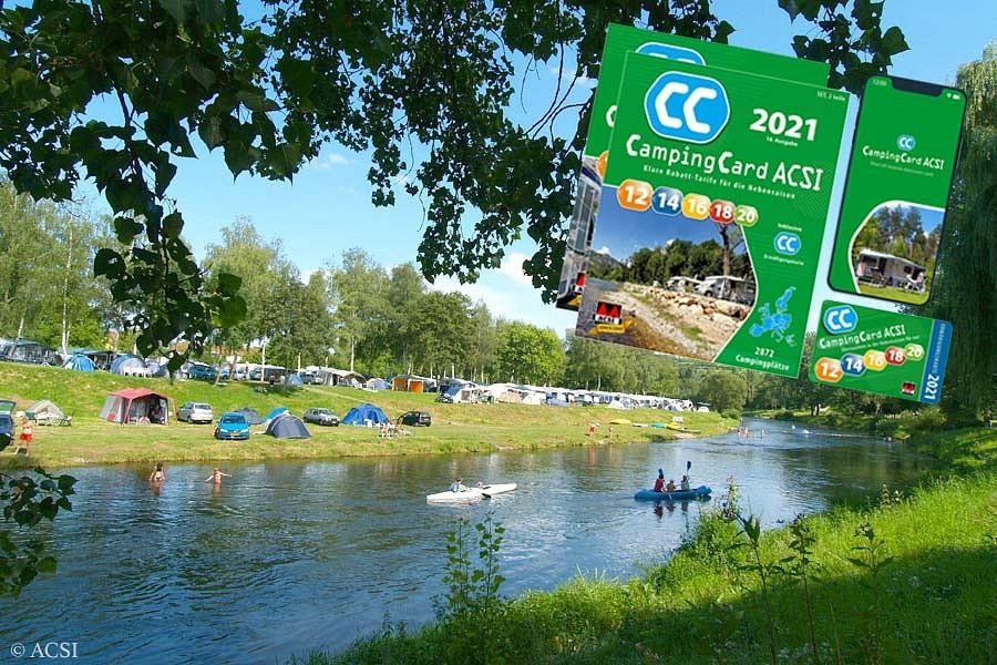 Campen in der Nebensaison mit der ACSICard
